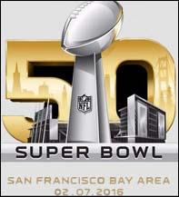 Le logo du Super Bowl n° 50 qui se tiendra dans la Bay Area